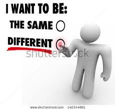 I change